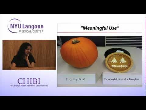 NYU CHIBI Dr Rainu Kaushal  The Center for Healthcare Informatics and Policy 2012 08 02