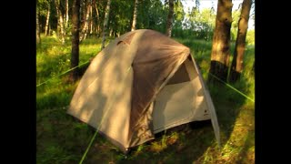Палатка NORDWAY BERGEN 4. ОБЗОР, СБОРКА, УСТАНОВКА