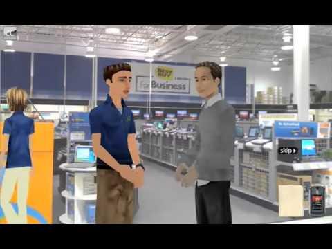 Best Buy Sales Floor eLearning Module