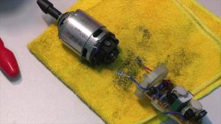 Ремонт блендера Philips HR1370/1371/1372 - complete disassembly and repair clutch