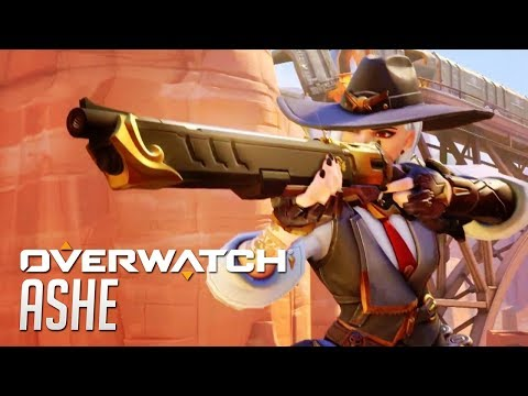 Ashe Official Hero Reveal Trailer - OVERWATCH | BlizzCon 2018