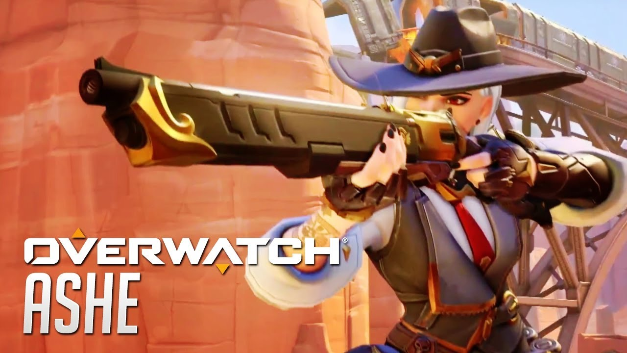 Image result for Overwatch's new hero Ashe