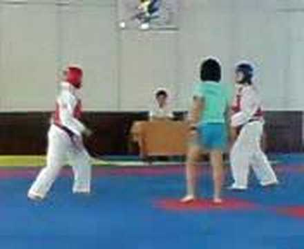 Aljunied CC Taekwondo Player - Zakirah