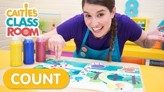 Counting Steps With Fingerpaints & The Bumble Nums! - Caitie's Classroom