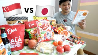 Singapore vs Japanese Snacks | Which Is Better?🍿