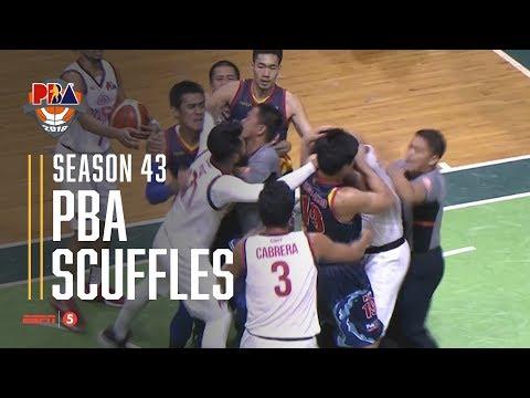 PBA 2018 Scuffles