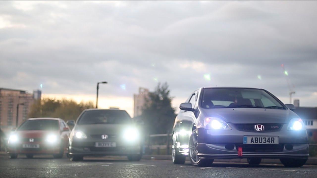 Honda Civic EP3 Type R Trio | VTEC, Revs, Accelerations & More | Uzi C Productions