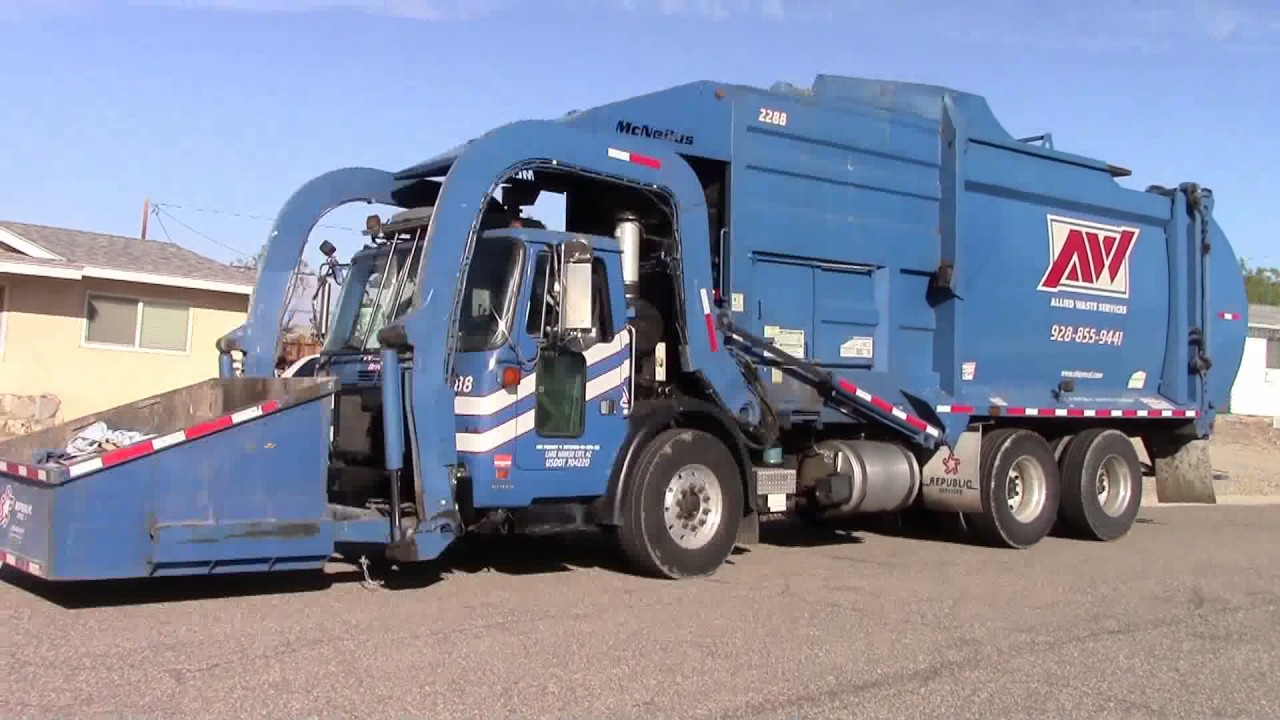Republic Services Trash Collection In North Las Vegas Nevada