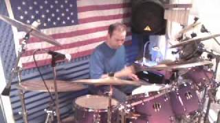 NEVER,NEVER GONNA GIVE YOU UP BY BARRY WHITE (DRUM COVER)