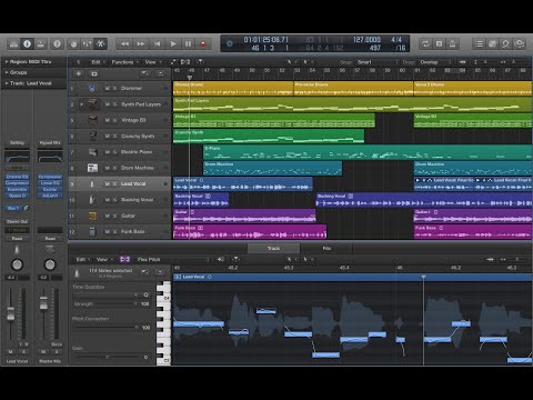 【DTM】Beyond The Time / TM Network (inst.)【Logic Pro X】