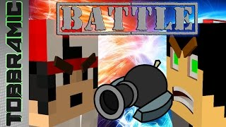 Minecraft TNT Cannon Battle | Kanonnen (Dutch)