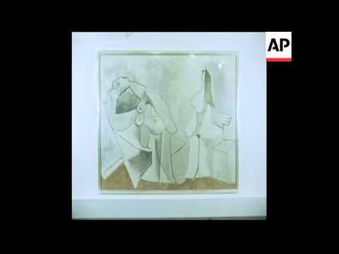 SYND 22 6 80 EXHIBITION OF PICASSO