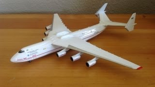 Herpa 1/400 Antonov Airlines AN-225 Unboxing