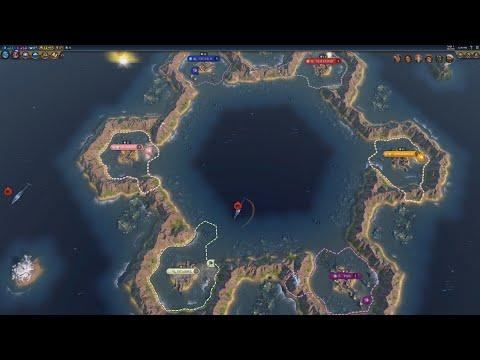 Civ 6 AI Only Timelapse: Ocean Blue