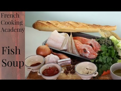 How to make a French Fish soup, bouillabaisse style - step by step video recipe