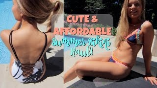 CUTE & AFFORDABLE TRY-ON BIKINI HAUL!~ Zaful