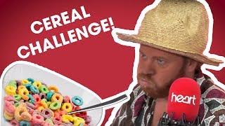 Emma Bunton and Keith Lemon do the cereal challenge!