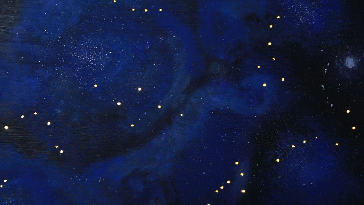 Light Up Constellation Wall Art