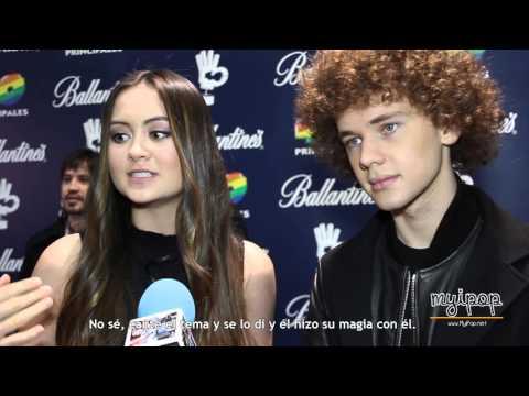 Premios 40 Principales 2015 - Jasmine Thompson y Francesco Yates mp3