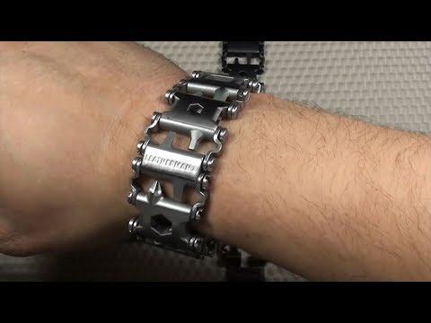 Мультитул - Стальной Браслет / Мужские браслеты. Leatherman. Он же - Браслет для часов.