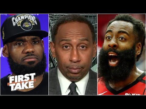 Would James Harden, KD & Kyrie Irving stop LeBron and the Lakers from repeating? | First Take