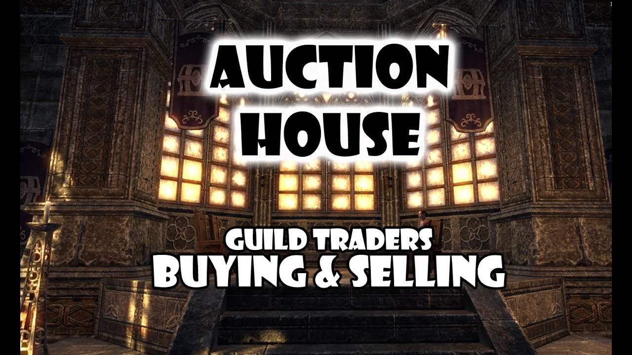 ESO - How auction house works buying and selling