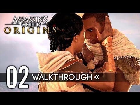 Assassin's Creed: Origins | Gameplay Walkthrough | Part 2 - Gennadios / End of the Snake / Medjay
