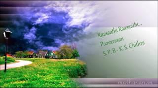 Rasathi Rasathi  |  Poovarasan  | S PB  |  K S Chithra