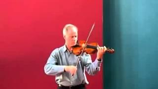 Bow division exercise - Bach A minor Concerto, Fintan Murphy