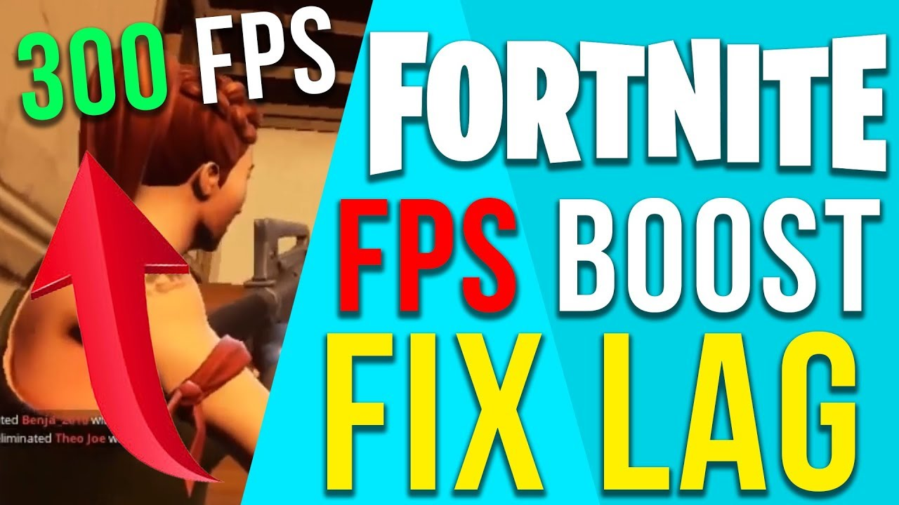 FORTNITE - HOW TO RUN FORTNITE ON A LOW END PC AND LAPTOP FPS FIX FPS GUIDE  2018