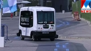 Dirverless smart vehicle service going to extend in Dubai | Manorama News