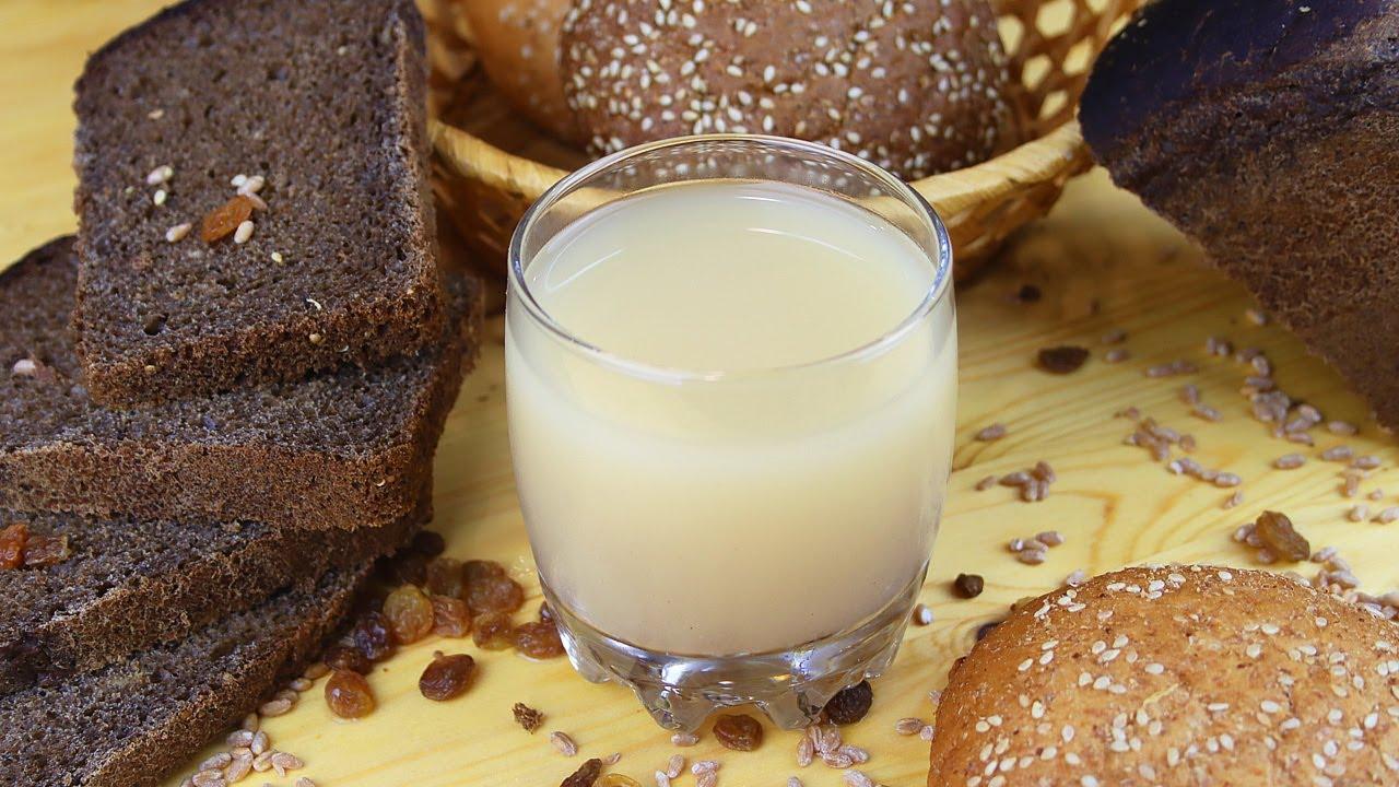 костре квас рецепт с фото изюм хлеб спонж, кисти