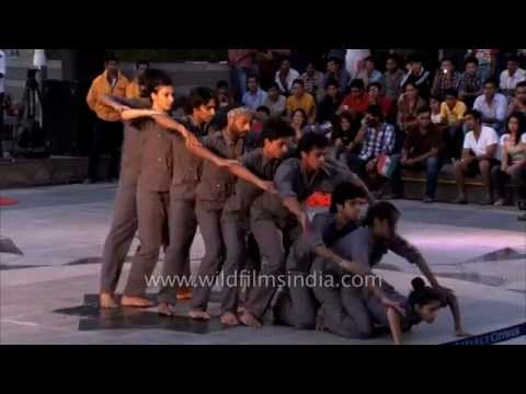 Shiamak Davar Institute (SDIPA) performs at Kargil Diwas