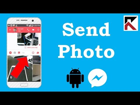 How To Send A Photo In Facebook Messenger Android