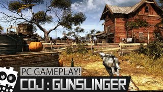 PC Gameplay! - Call of Juarez Gunslinger [Max Settings]