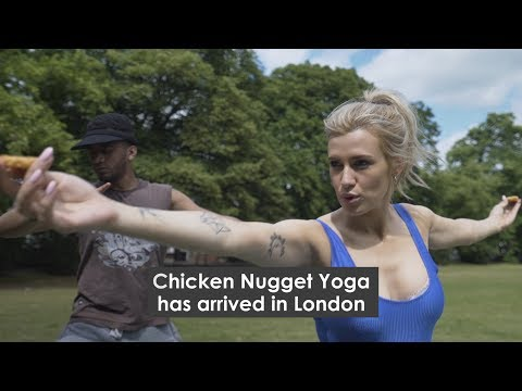 Chicken Nugget Yoga is here