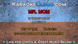 Lonestar - Mr. Mom (Backing Track)
