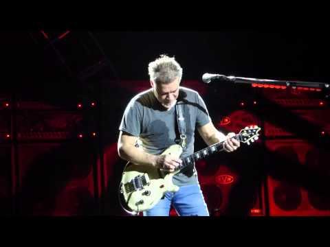"""Eddie Guitar Solo"" Van Halen@Susquehanna Bank Center Camden, NJ 8/27/15"