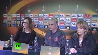 Моуринью раскритиковал поле стадиона «Олимп-2» и похвалил игроков «Ростова»