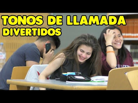 TONOS de LLAMADA DIVERTIDOS 2  || Broma cámara oculta