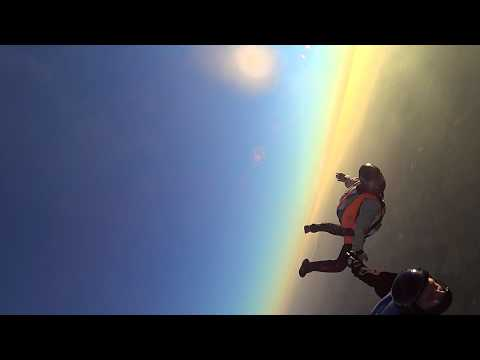 First track dive at Skydive Dallas