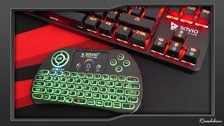 Świetne klawiatury do urządzeń Smart - Savio KW-01/02/03