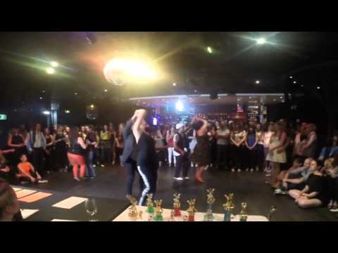 Adelaide's Best Social Dancer Competition Series 2014 - Finals - Bachata - Warmup