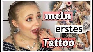 Mein ERSTES Tattoo   Blond_Beautyy