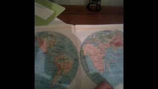 видео Атлас контурные карты 10 11 класс