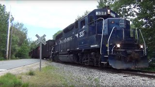 HD Pan Am Trains on the Lewiston Industrial Track in 2014 - 2015