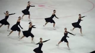 """Команда """"ЖЕМЧУЖИНА"""" Тольятти 2018. Синхронное фигурное катание на коньках."""