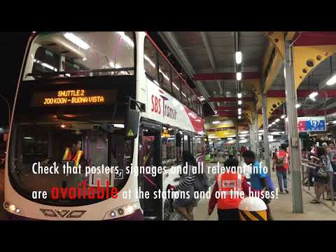 Behind the Scenes of Bus Operations Control Centre during ECLO