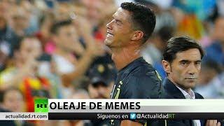 Oleaje de memes por la expulsión de Cristiano Ronaldo
