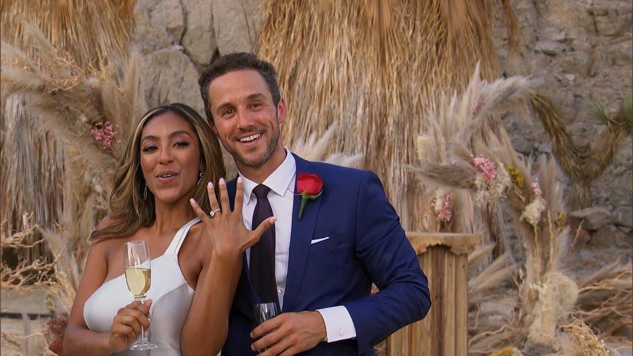 Zac and Bachelorette Tayshia Adams Get Engaged - The Bachelorette - YouTube
